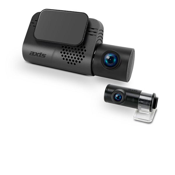 DVR602 12/24V Dual Camera FULL HD Dash Cam with GPS & WiFi